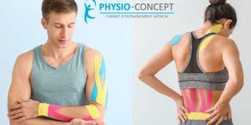 Le taping, un outil de l'arsenal thérapeutique des physiothérapeutes